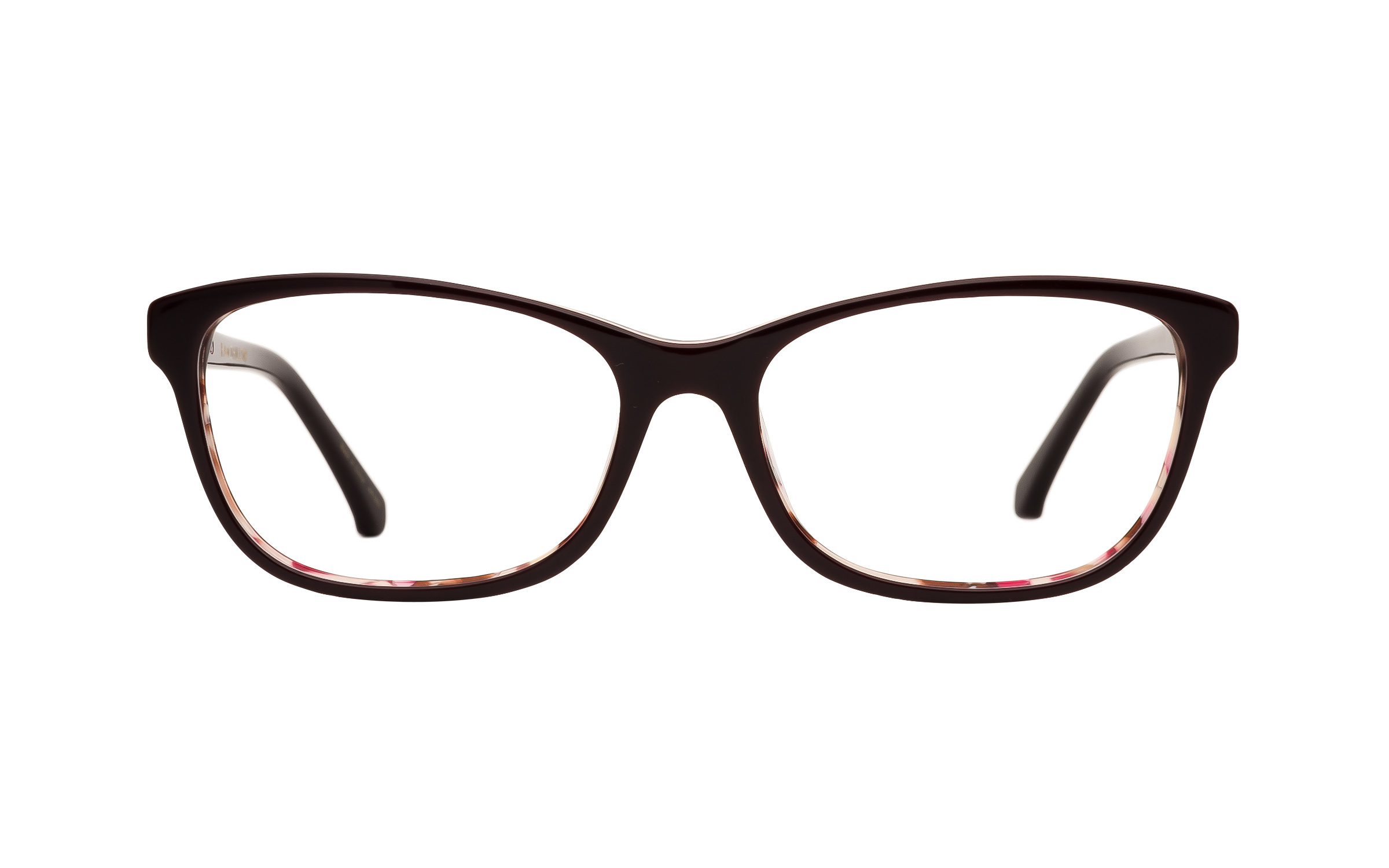 Women's Red, Pink D-Frame Kam Dhillon Glasses - Clearly Glasses Online