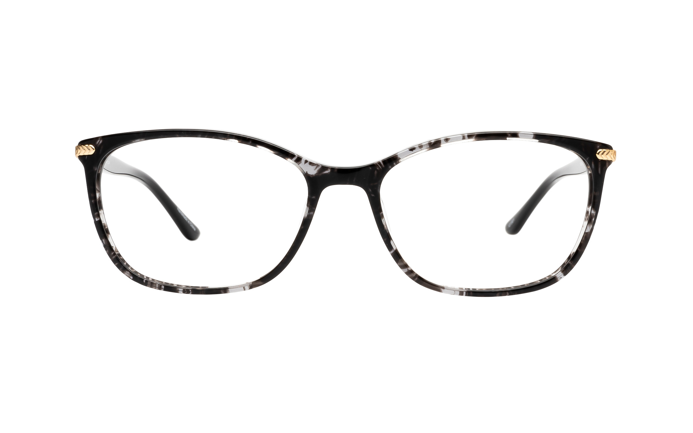 Kam Dhillon Natalie (54) Eyeglasses and Frame in Crystal Black | Acetate/Metal - Online