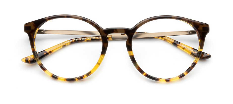 product image of Kam Dhillon Pansy-51 Yellow Tort