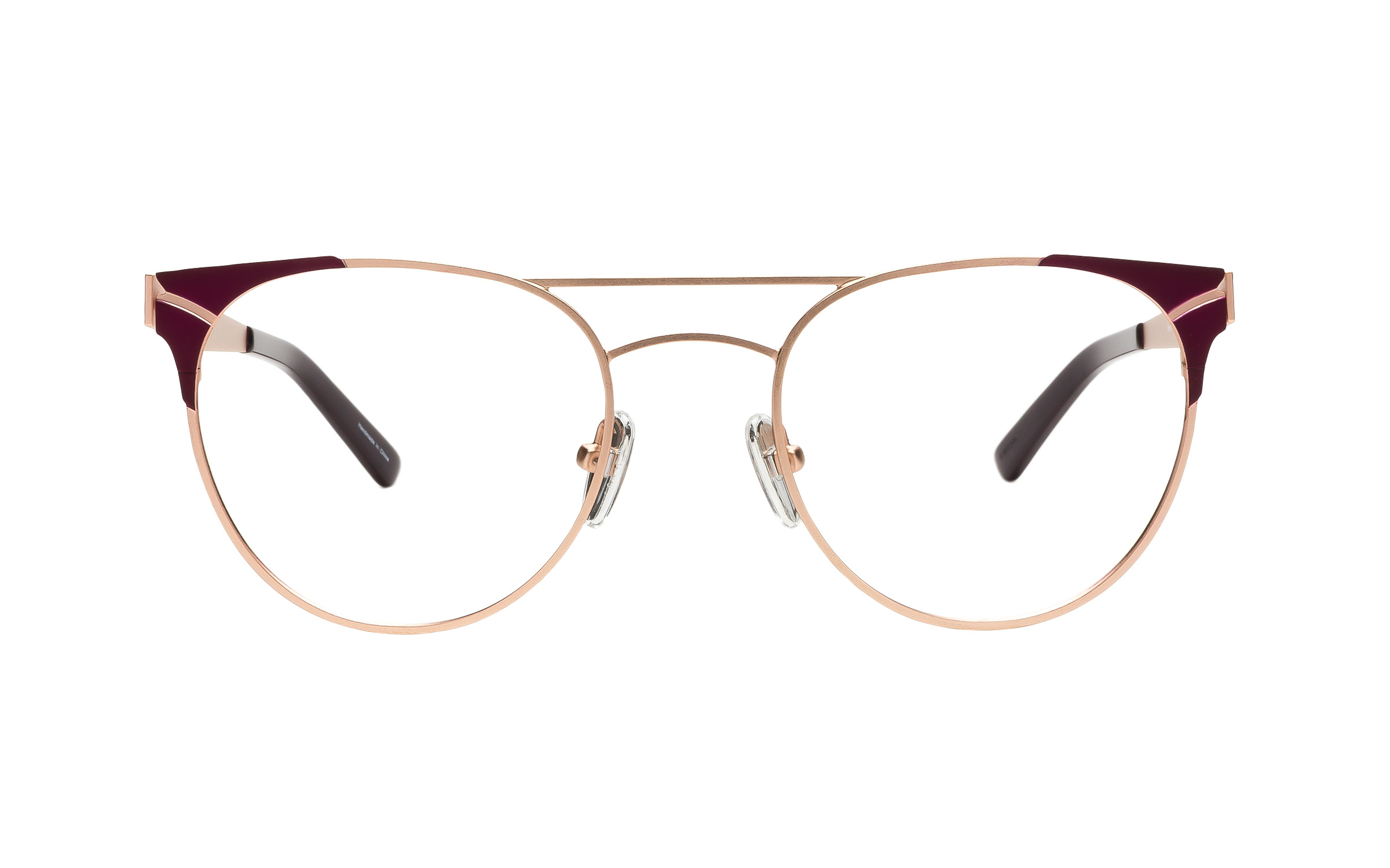 Women's Wing-Tip Glasses Gold Kam Dhillon Online Clearly