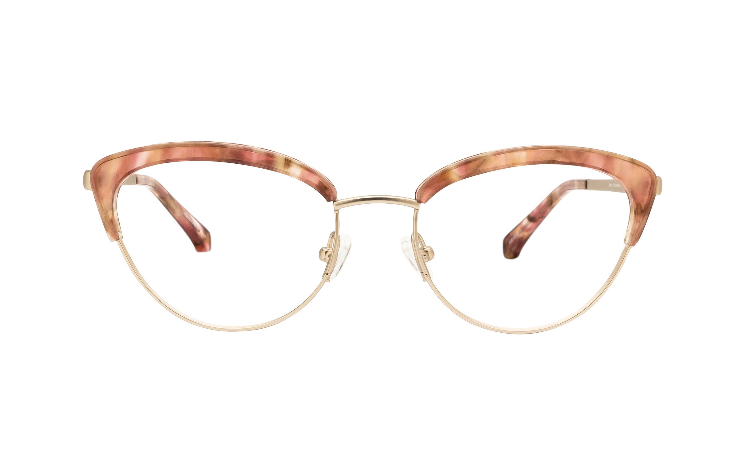 Kam Dhillon Romy KD065 C02 (52) Eyeglasses and Frame in Havana Pink | Plastic/Metal - Online
