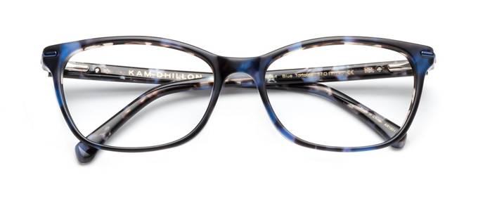 product image of Kam Dhillon Susan-57 Écailles de tortue bleues