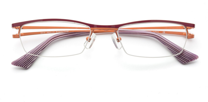 product image of Konishi KS-53-50 Burgundy Orange