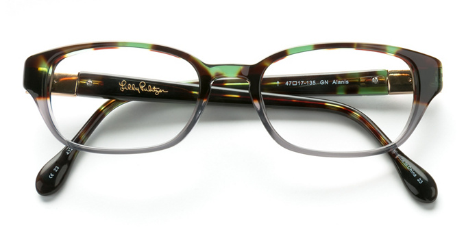 product image of Lilly Pulitzer Alanis Green Tortoise