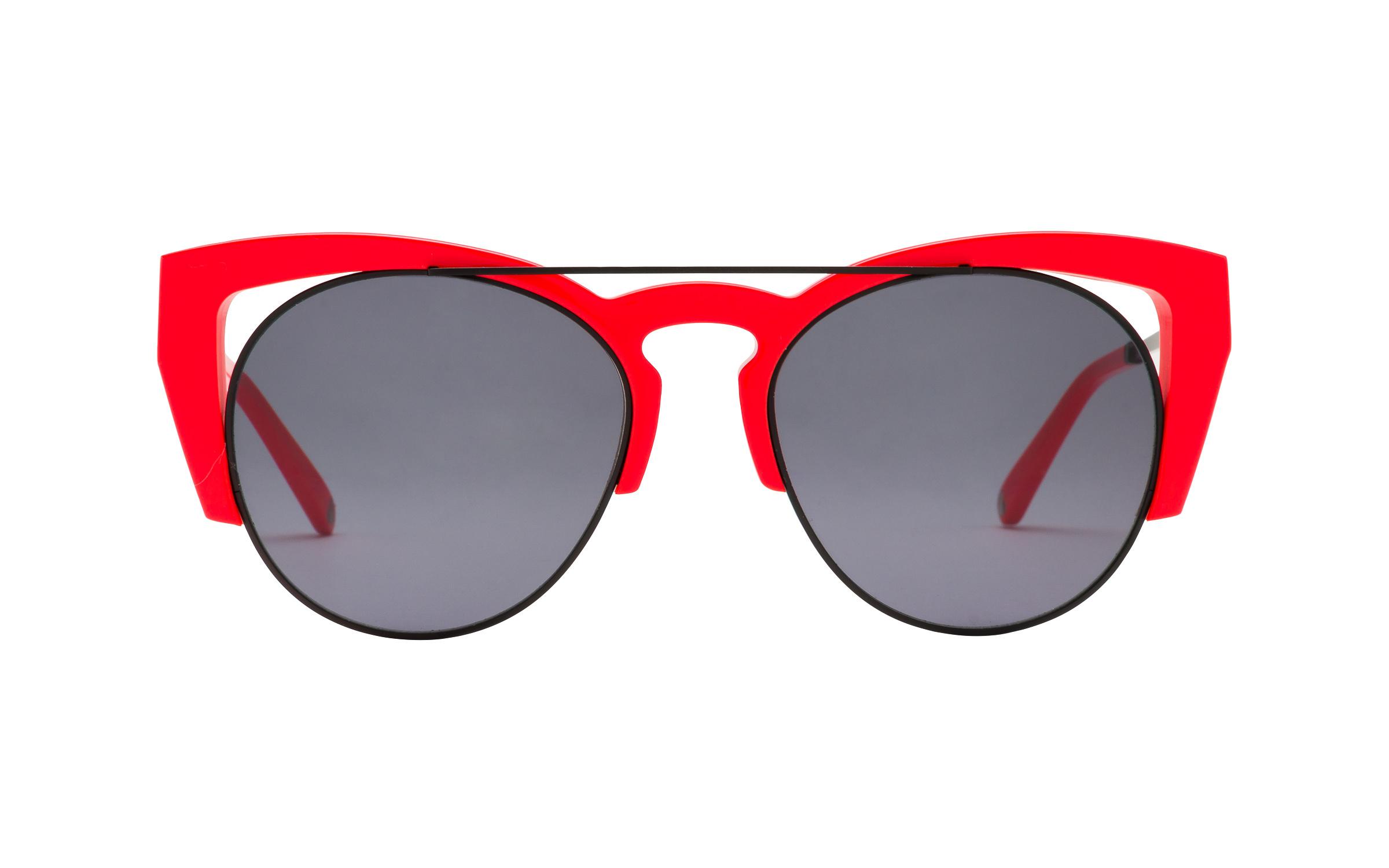 Love Sunglasses Cat-Eye Red Online Coastal