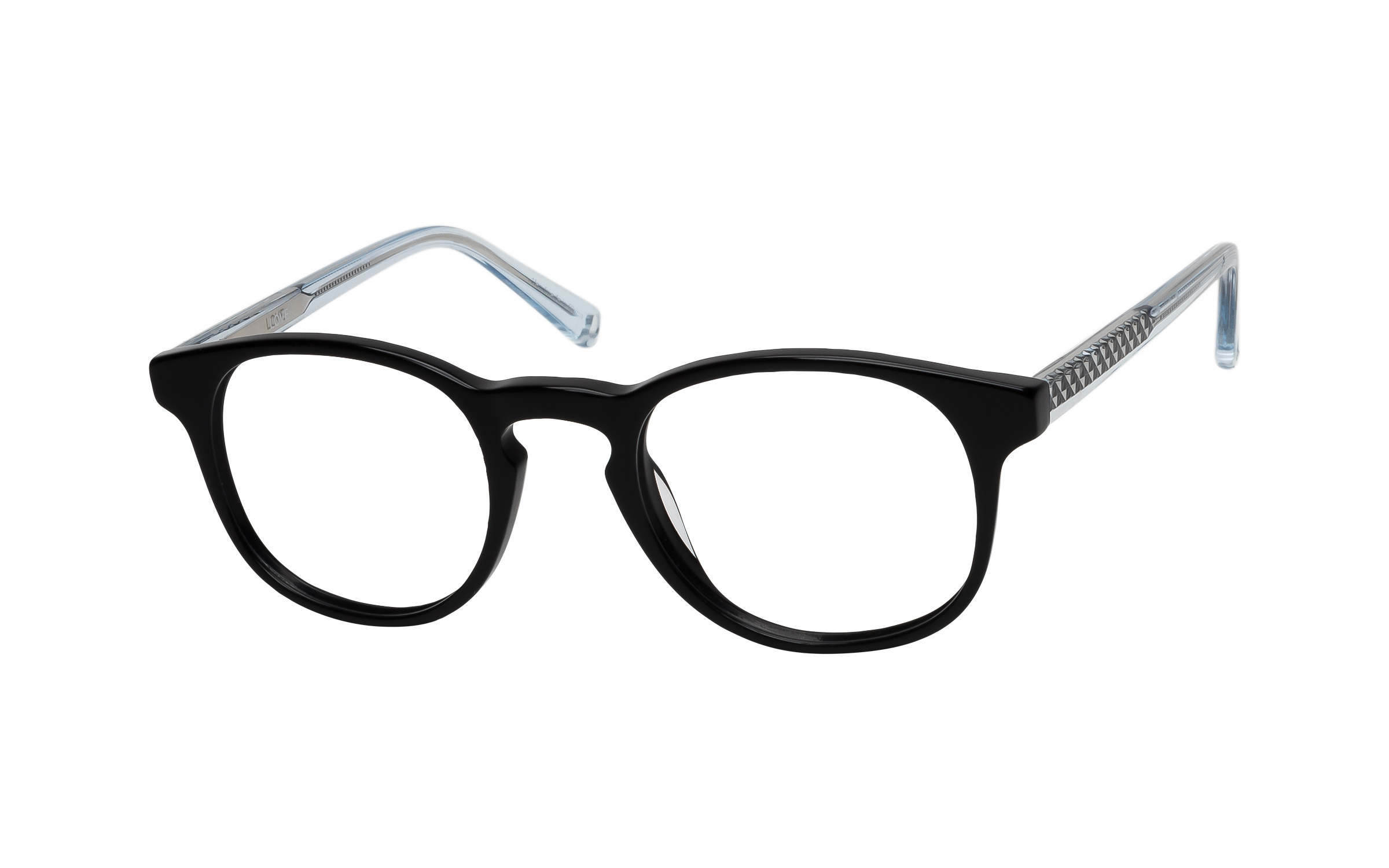 Women's Vintage Glasses Black Love Online Clearly