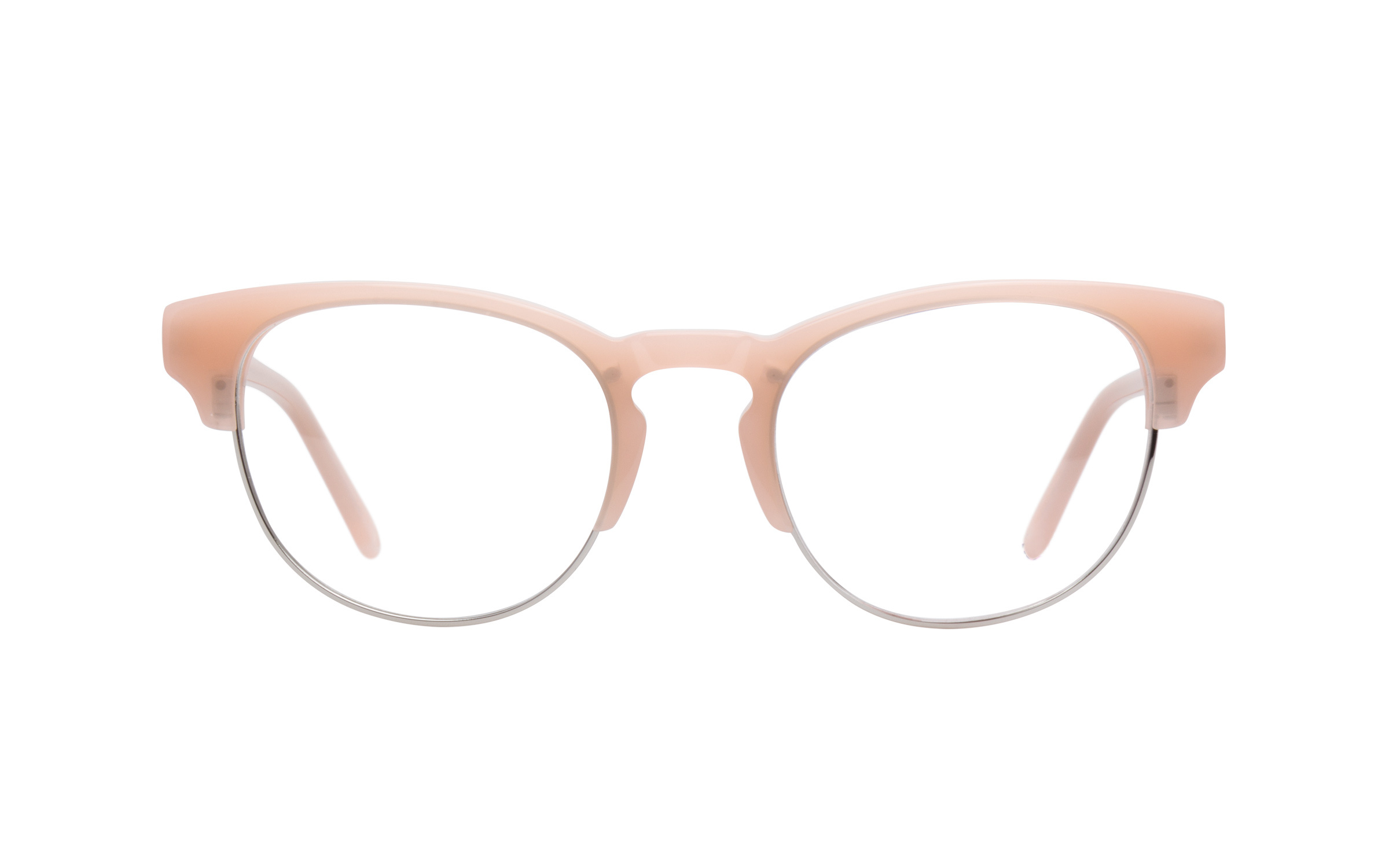 Women's Vintage Glasses Pink Love Online Clearly