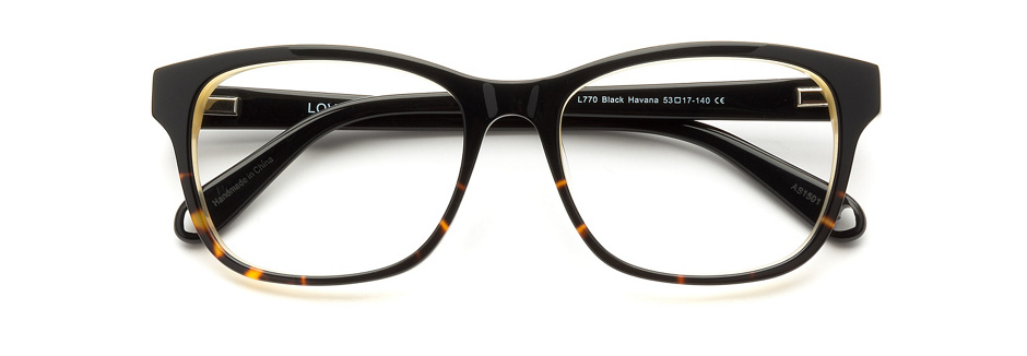 product image of Love L770 Black Havana