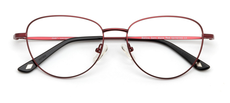 product image of Main And Central Ballina-52 Semi Matte Dark Red