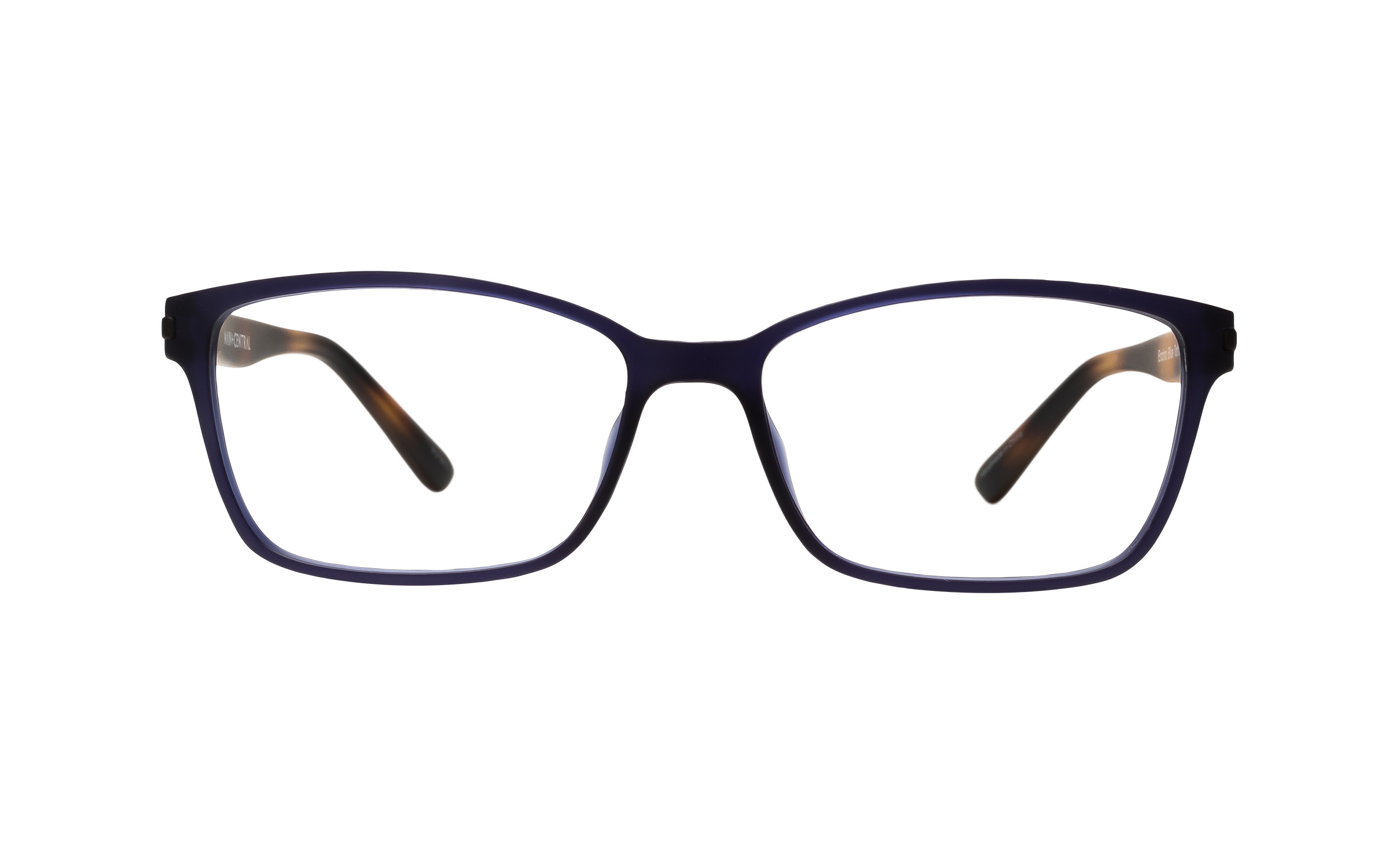 Main and Central Encino (51) Eyeglasses and Frame in Blue Tort Blue/Tortoise/Brown | Plastic