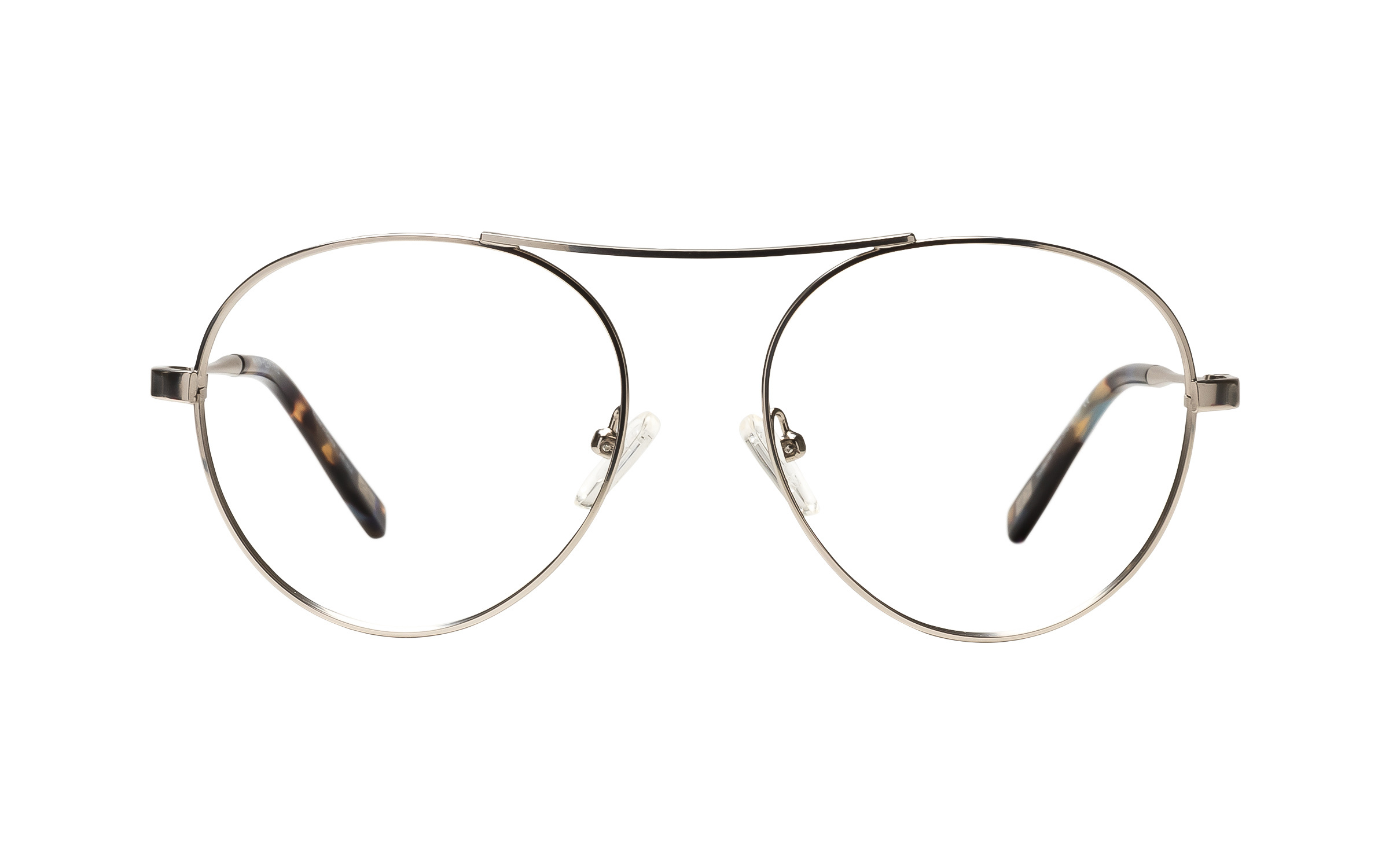 Main and Central Footscray (51) Eyeglasses and Frame in Silver | Plastic/Metal - Online Coastal