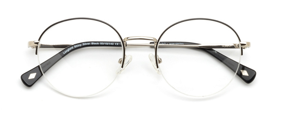 product image of Main And Central Longford-50 Shiny Silver Black