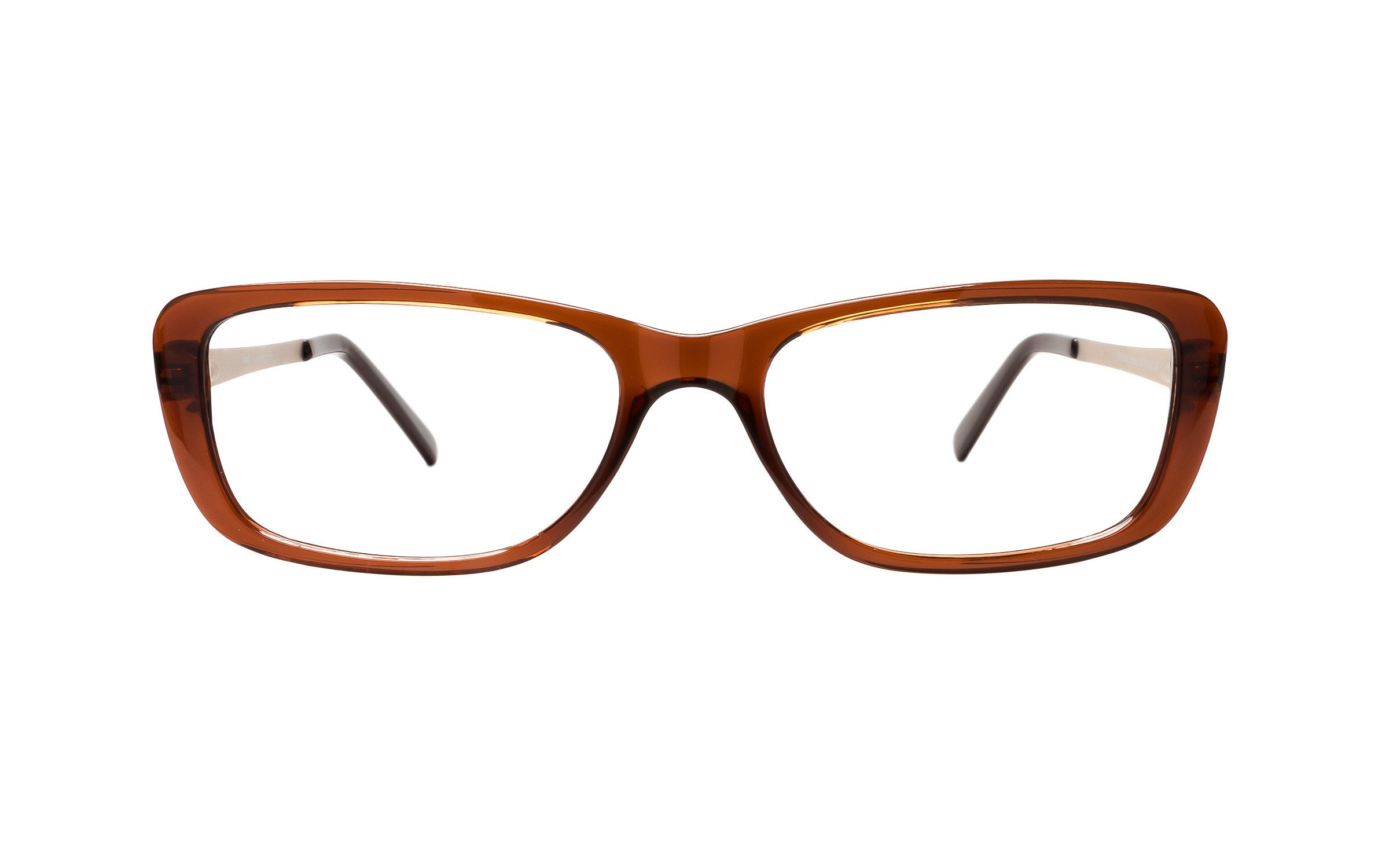 Main and Central Marbella (53) Eyeglasses and Frame in Brown | Plastic/Metal - Online Coastal