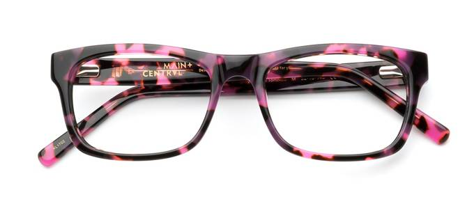 product image of Main And Central Monday-L Plum Tortoise
