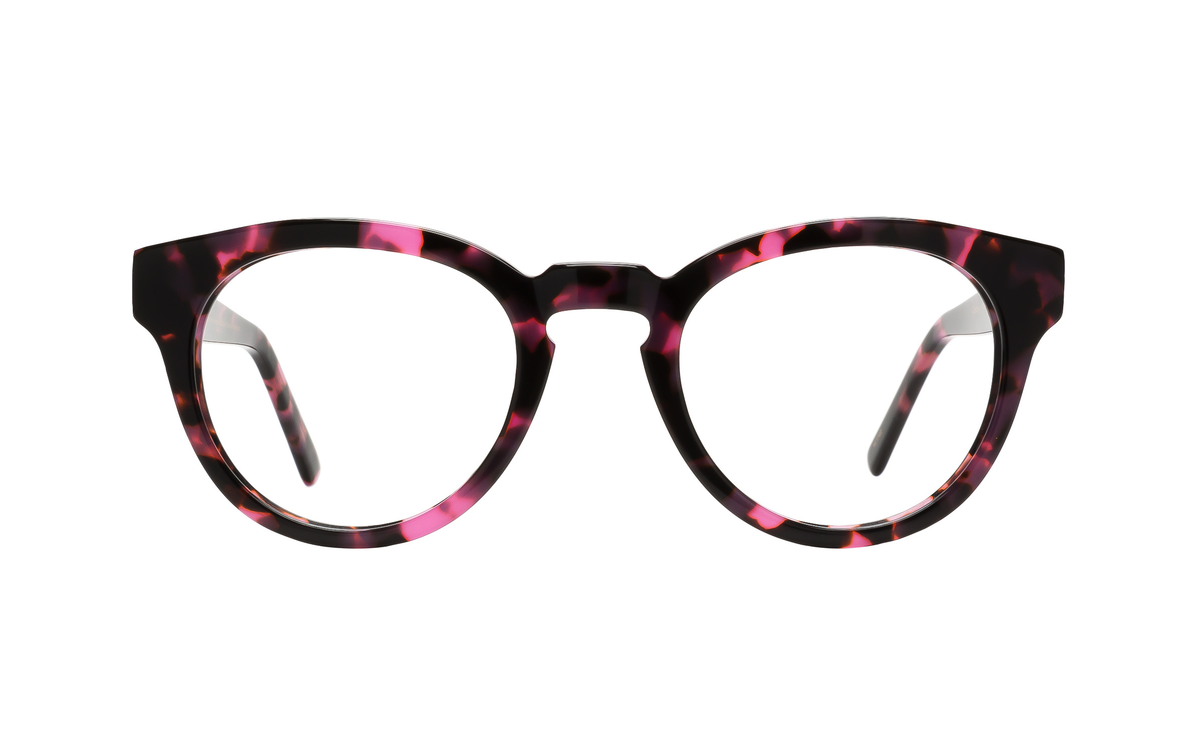 Women's Wing-Tip Glasses Tortoise Main And Central Online Clearly
