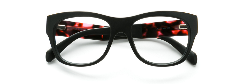 product image of Marc By Marc Jacobs MMJ546 Matte Black Fuchsia