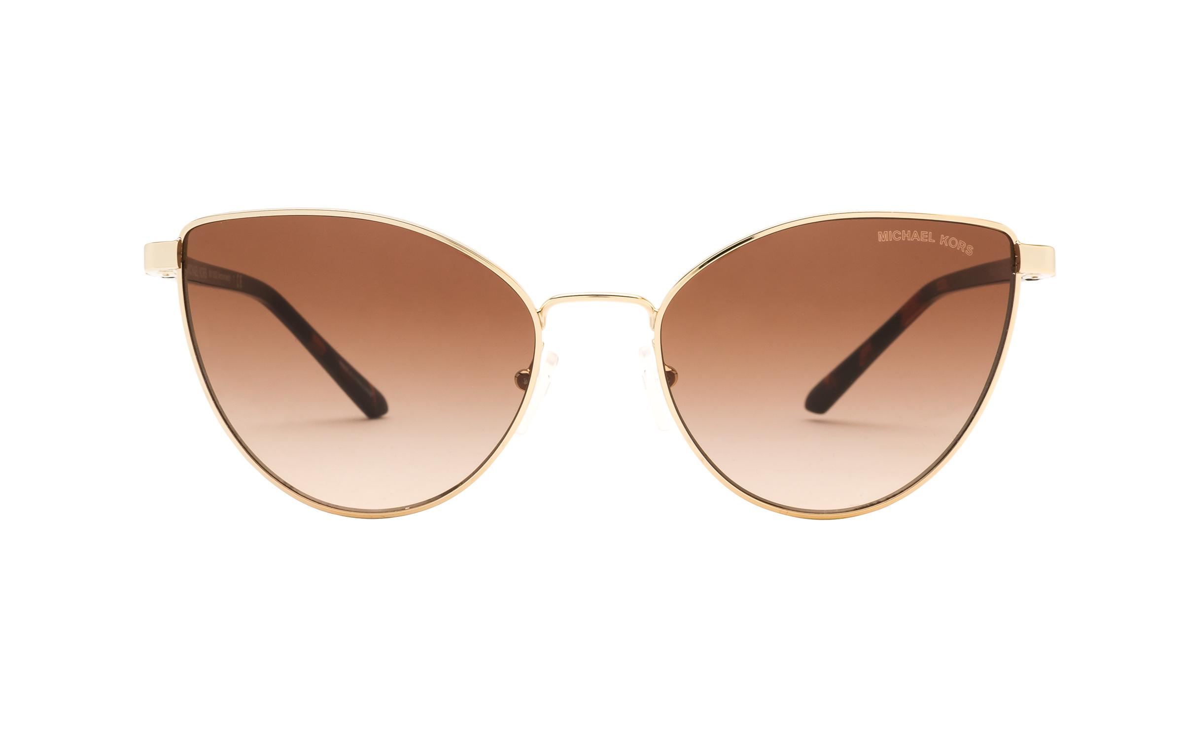 http://www.coastal.com/ - Luxottica Michael Kors Arrowhead MK1052 101413 57 Sunglasses in Gold | Plastic/Metal – Online Coastal