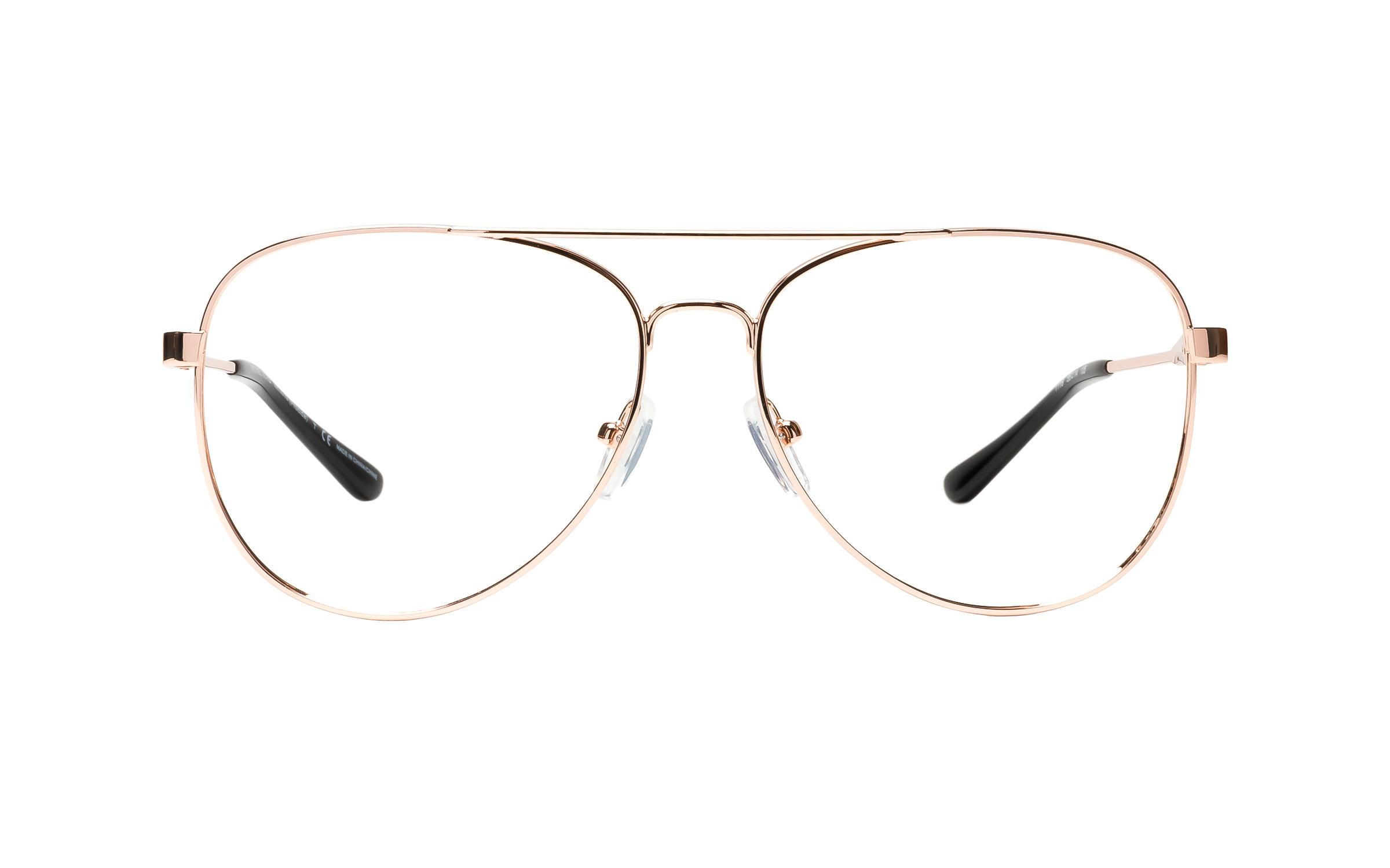 Michael Kors MK3019 1116 (56) Eyeglasses and Frame in Rose Gold/Pink | Plastic/Metal - Online