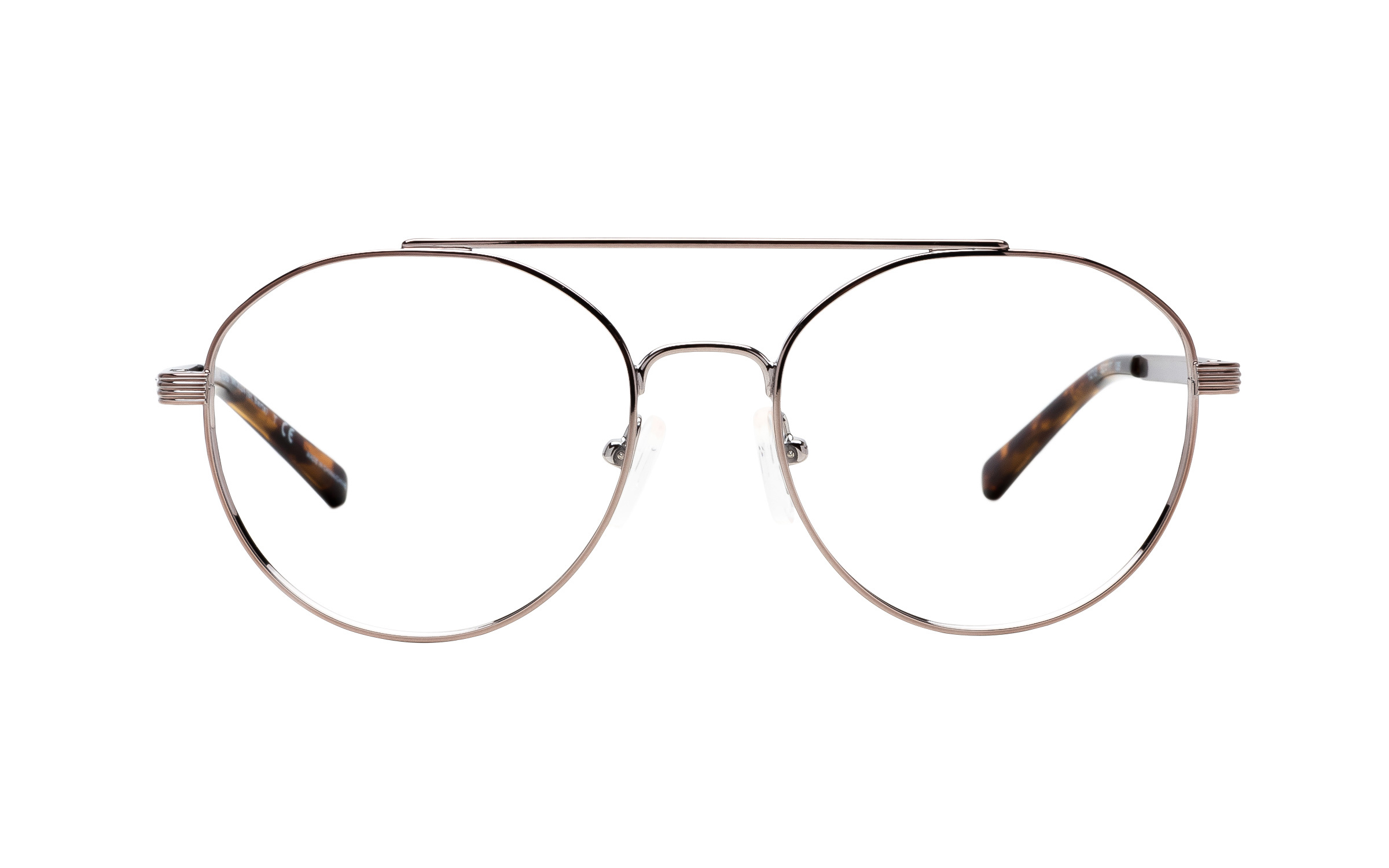 Michael Kors St. Barts MK3024 1213 (52) Eyeglasses and Frame in Sable Silver | Metal - Online Coastal