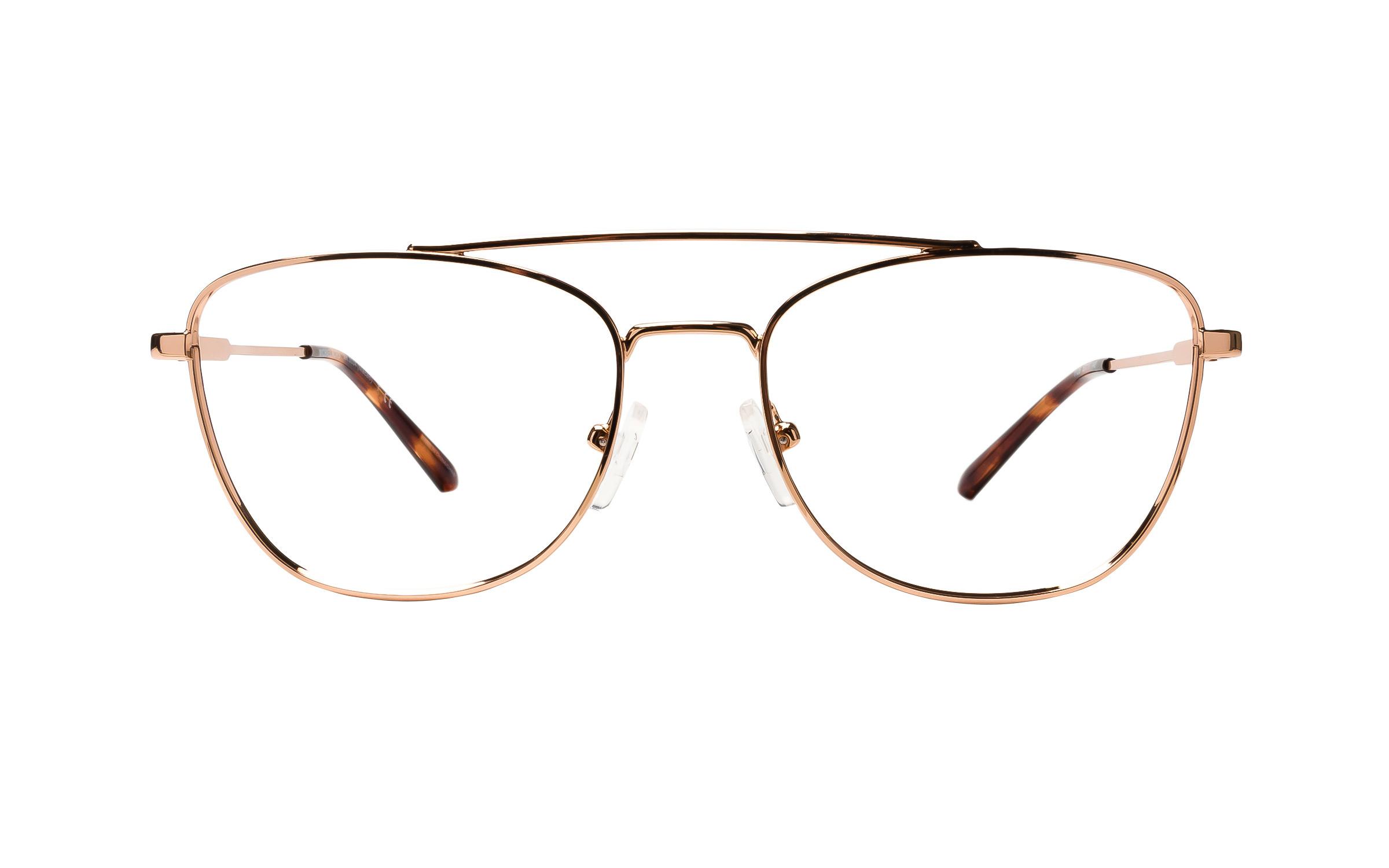 Michael Kors Macao MK3034 1108 (53) Eyeglasses and Frame in Rose Gold/Pink | Plastic/Metal - Online Coastal