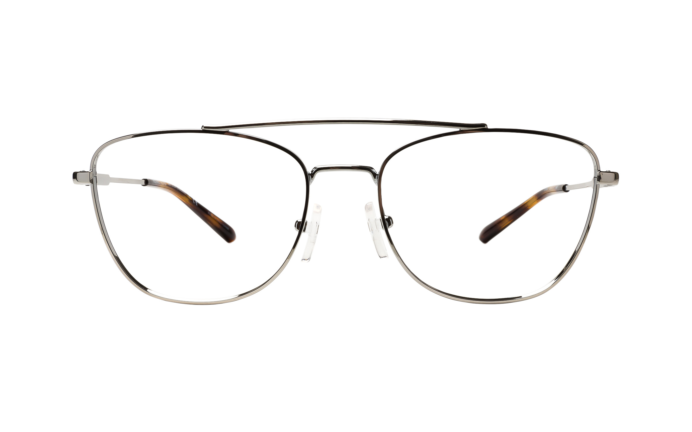 Michael Kors Macao MK3034 1153 (53) Eyeglasses and Frame in Silver | Plastic/Metal