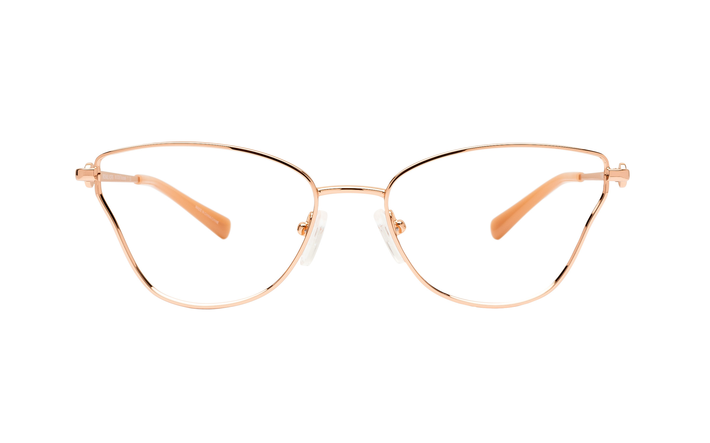 Michael Kors Toulouse MK3039 1108 (54) Eyeglasses and Frame in Rose Gold Pink/Gold | Metal