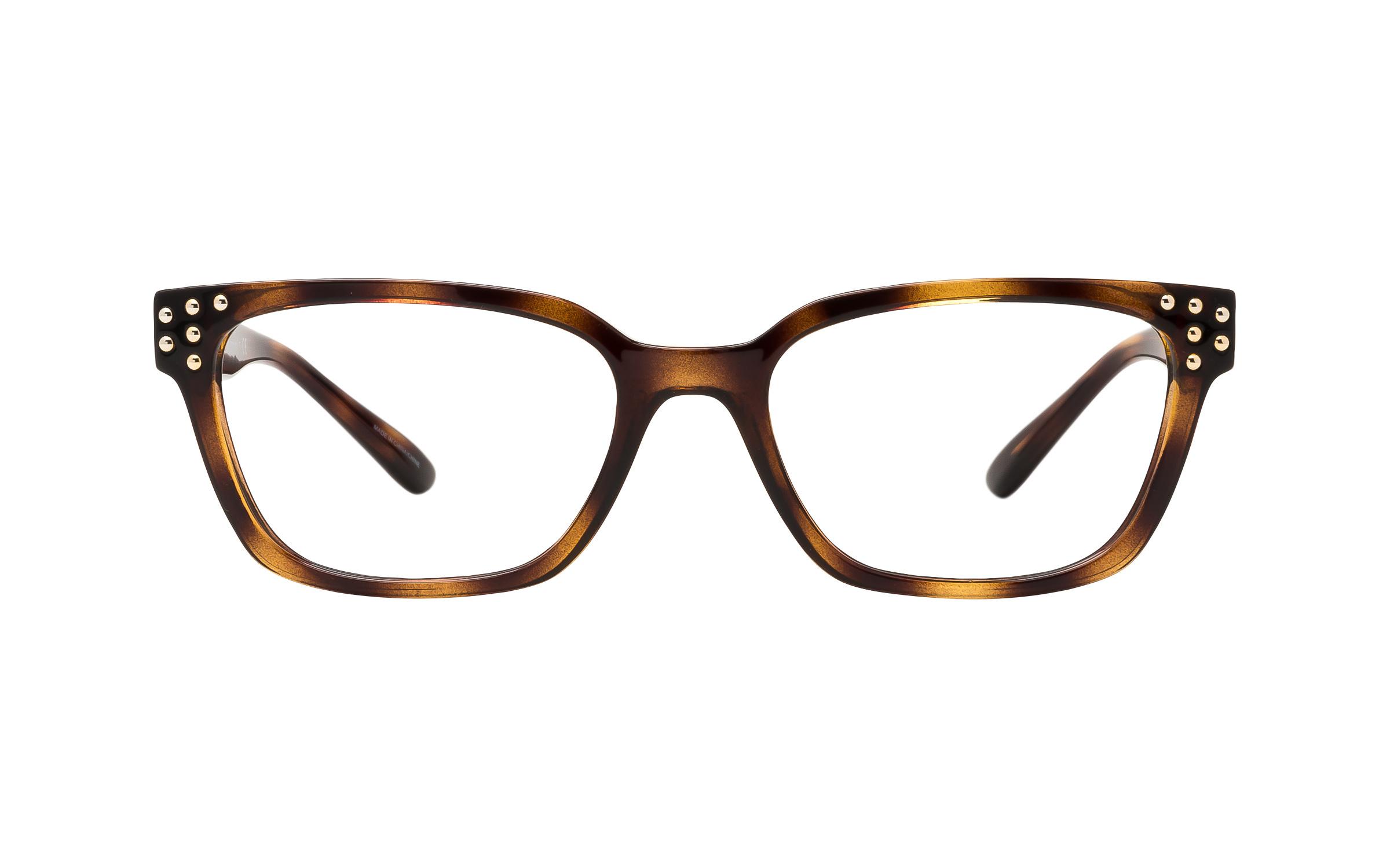 Michael Kors MK4056 Vancouver 3336 (51) Eyeglasses and Frame in Dark Brown/Tortoise | Metal - Online
