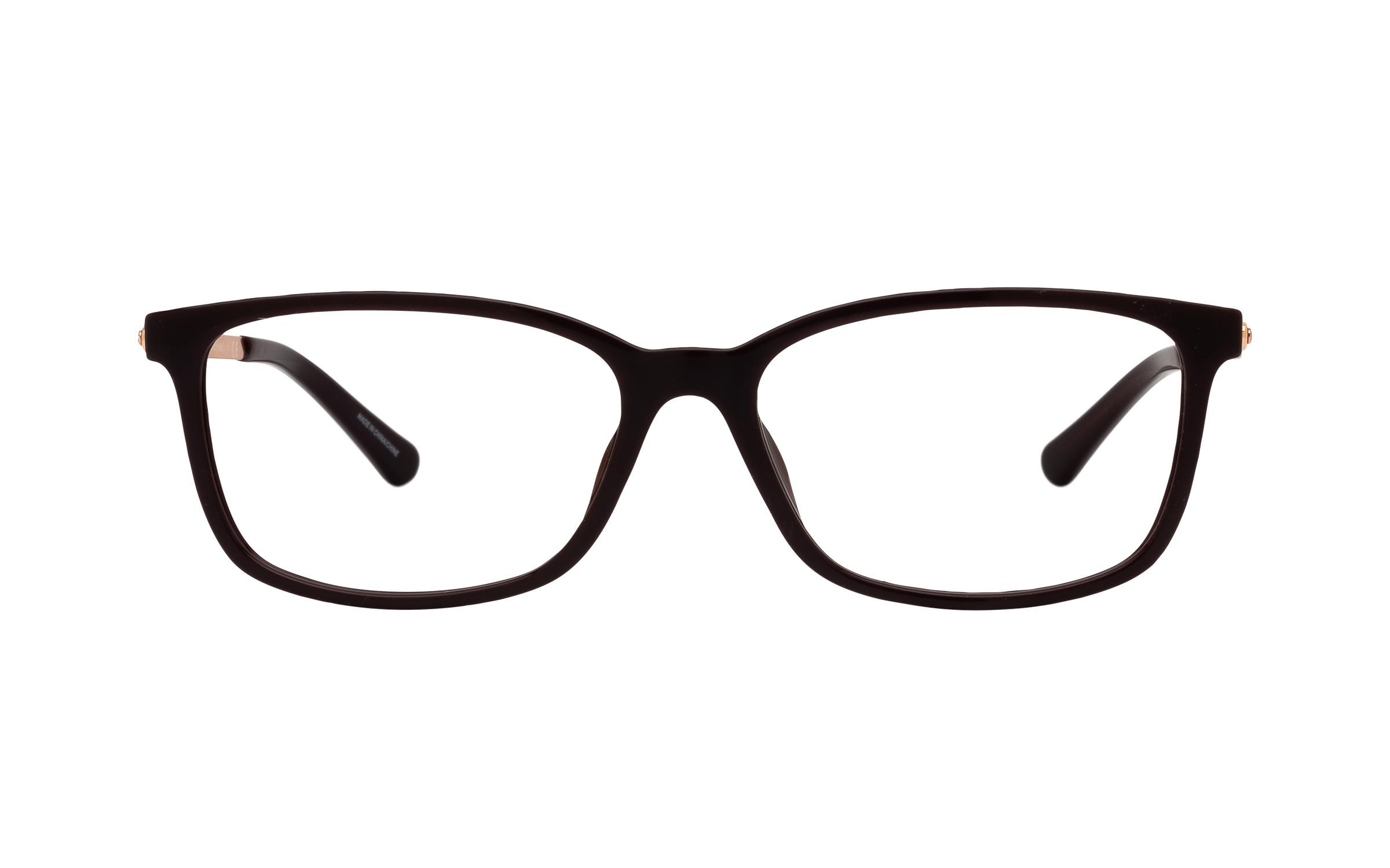 Michael Kors MK4060U 3344 (54) Eyeglasses and Frame in Cordovan Red | Acetate/Metal - Online Coastal