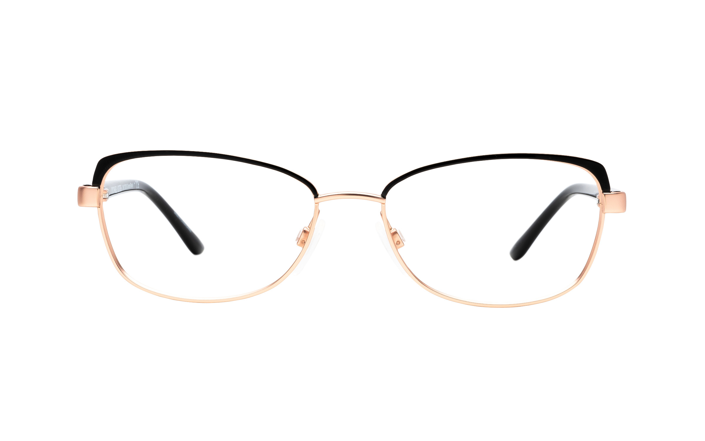 Michael Kors Grace Bay MK7005 1113 (52) Eyeglasses and Frame in Satin Rose Black/Gold | Acetate/Metal - Online