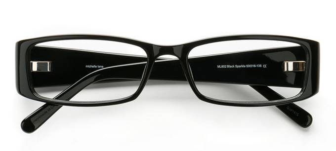 product image of Michelle Lane 802 Black Sparkle