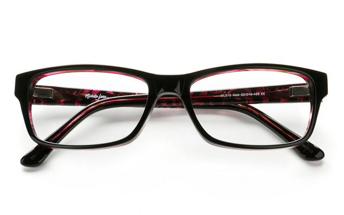buy eyeglasses online cheap 9dwb  product image of Michelle Lane 815-52 Noir