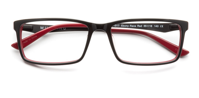 product image of Mustang 1917-55 Ebony Race Red