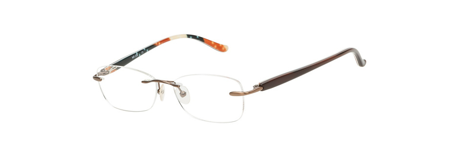 product image of Naturally Rimless NR336-50 Brown