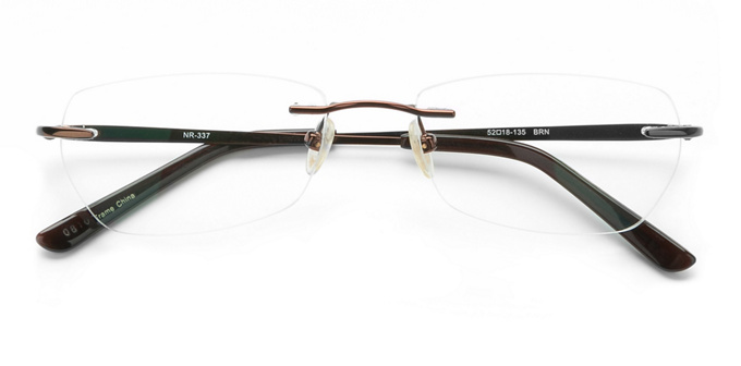 product image of Naturally Rimless NR337 Brown