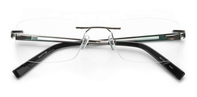 product image of Naturally Rimless NR347 Gunmetal
