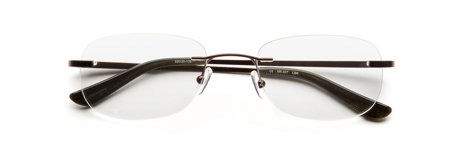 product image of Naturally Rimless NR407-52 Light Brown