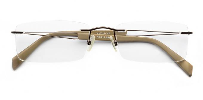 product image of Naturally Rimless NR415-53 Brown