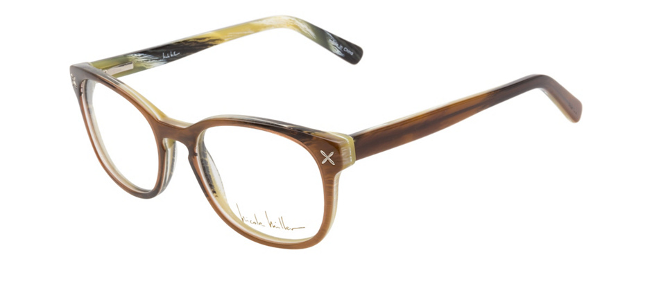 product image of Nicole Miller Bank Brown Tortoise