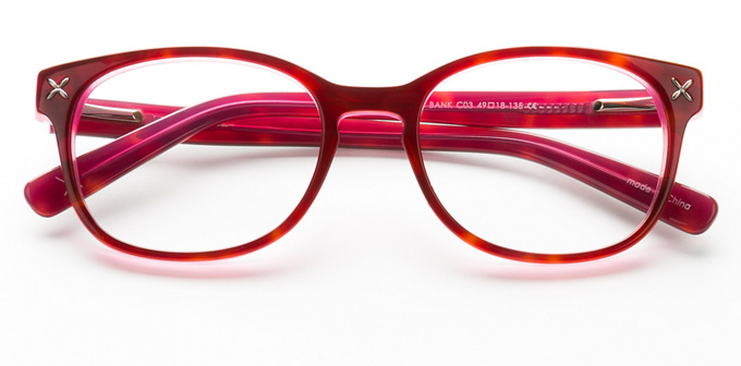 product image of Nicole Miller Bank Red Tortoise
