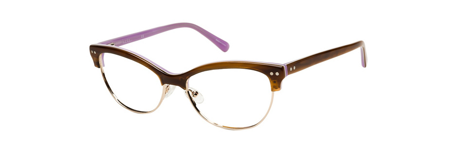 product image of Nicole Miller Degraw-52 Brown Horn Purple