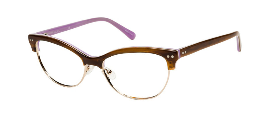product image of Nicole Miller Degraw-52 Brun corne violet