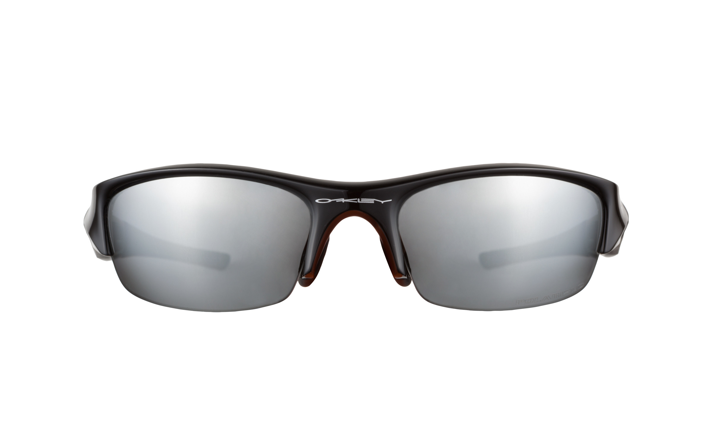 Oakley Flak Jacket Polarized Sunglasses  product image of oakley flak jacket black polarized