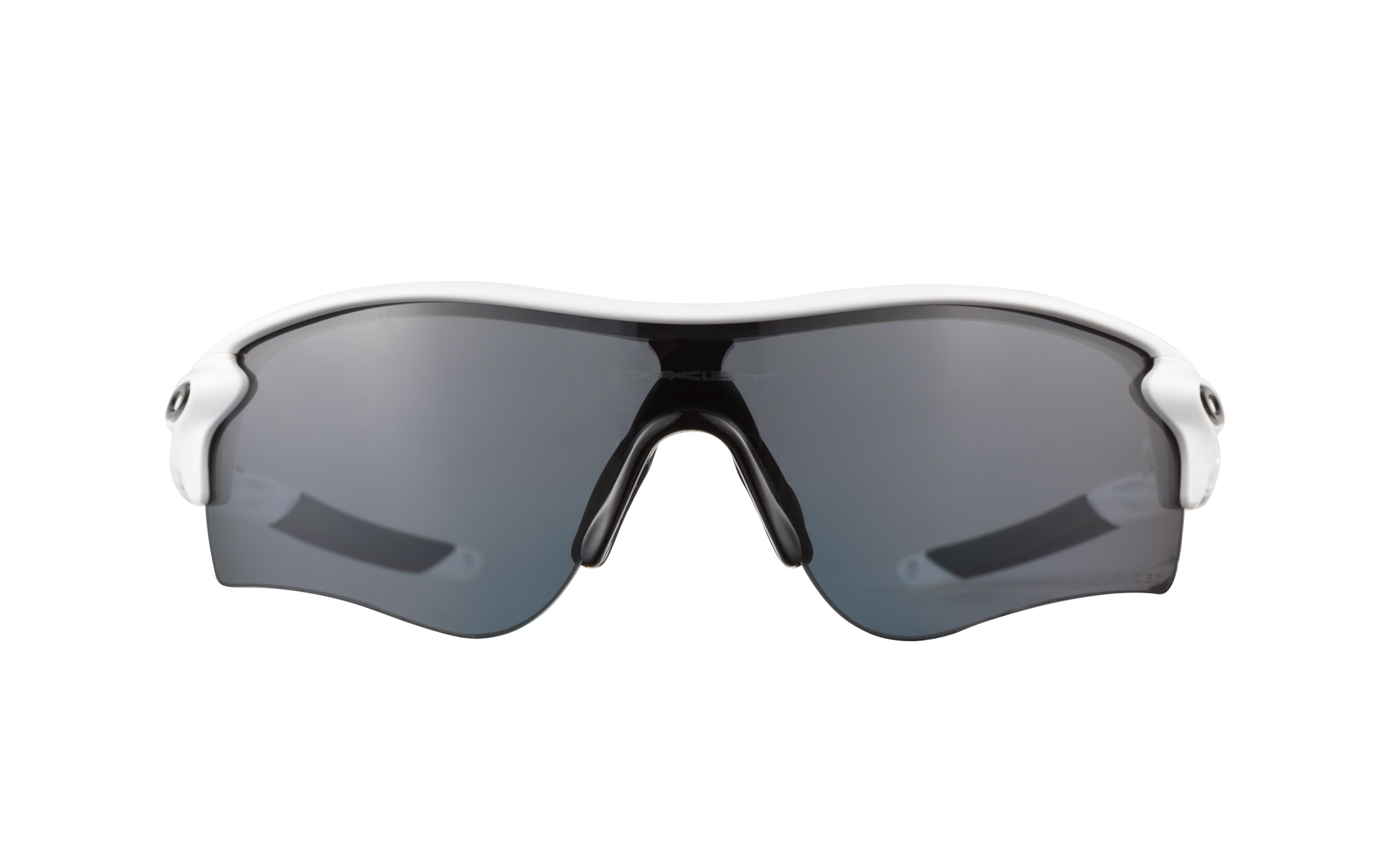 Oakley Radarlock Path 9181 20 Matte White Polarized Sungl...