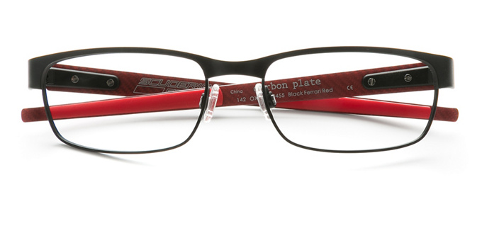 product image of Oakley Carbon Black Ferrari Red