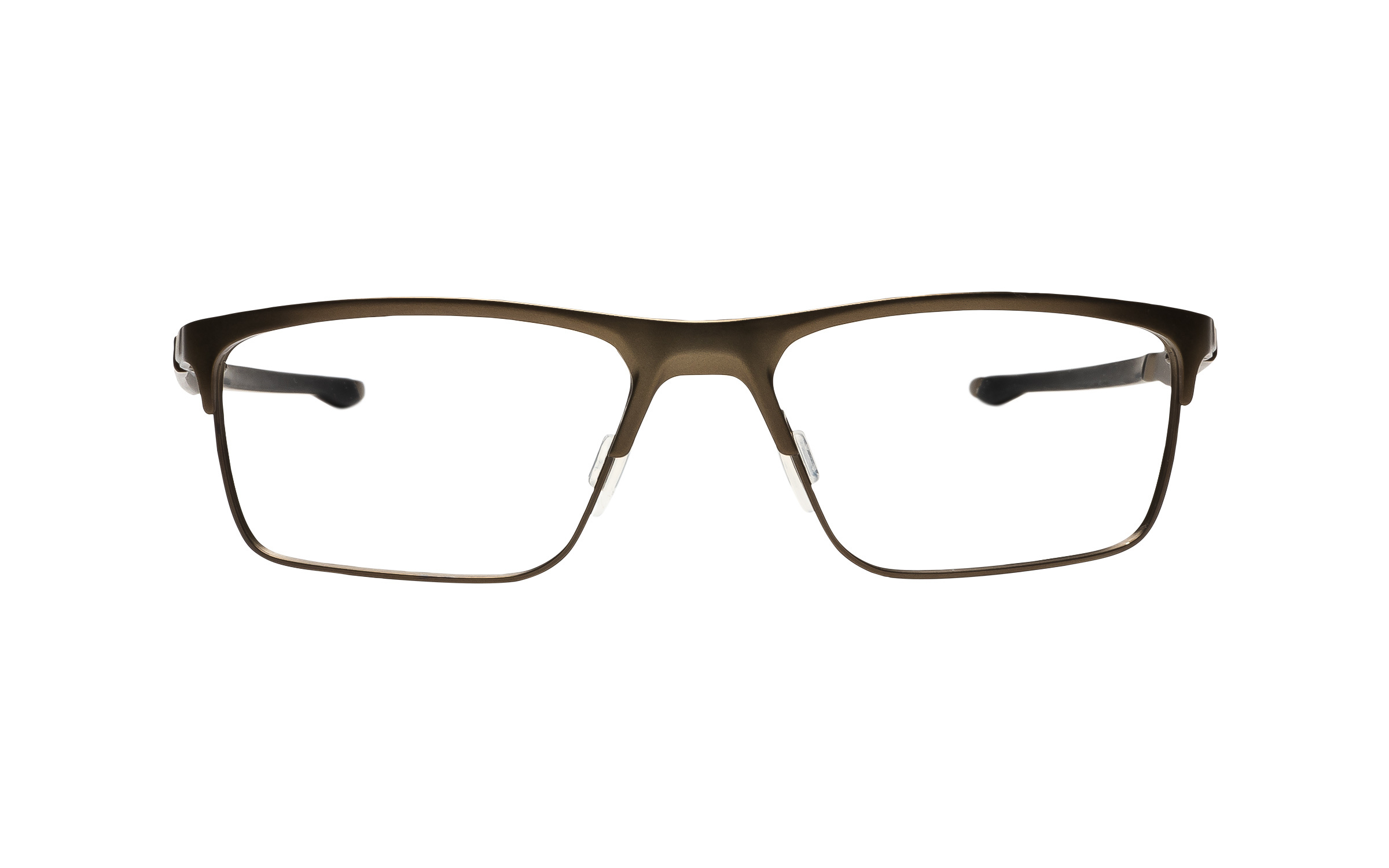 Luxottica Oakley OX5137 02 54 Eyeglasses and Frame in Pewter Grey/Silver | Metal - Online Coastal