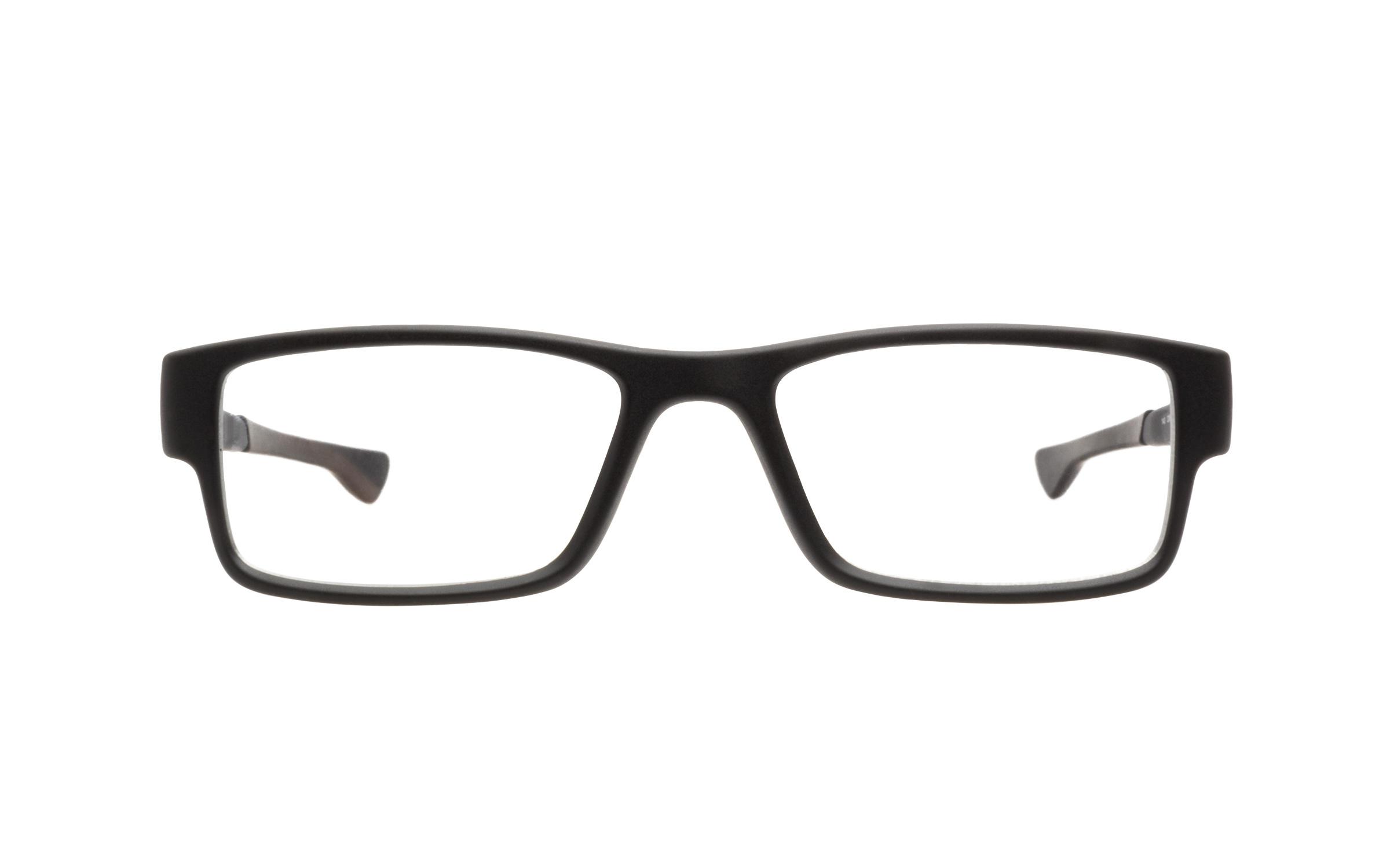 Oakley OX8046 01 55 Eyeglasses and Frame in Satin Black | Acetate - Online Coastal