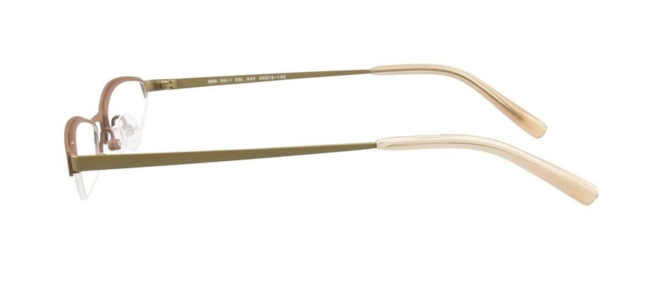 product image of OGI Titanium 5017-49 Med Brown Olive