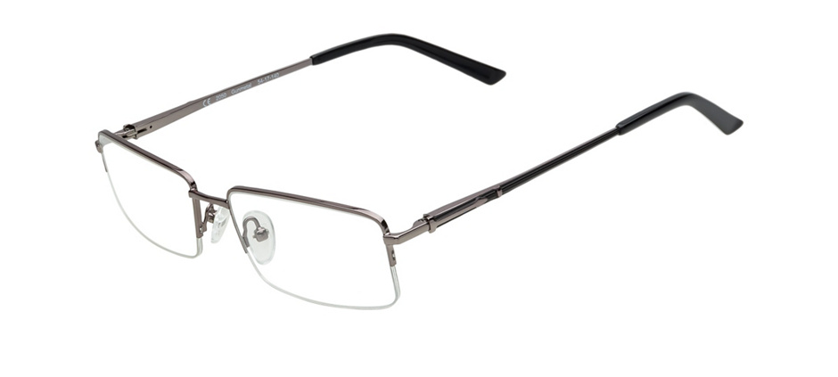 8788013a87a product image of Perspective 2050-54 Semi-rimless Gunmetal