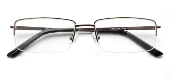 product image of Perspective 2050-54 Semi-rimless Gunmetal