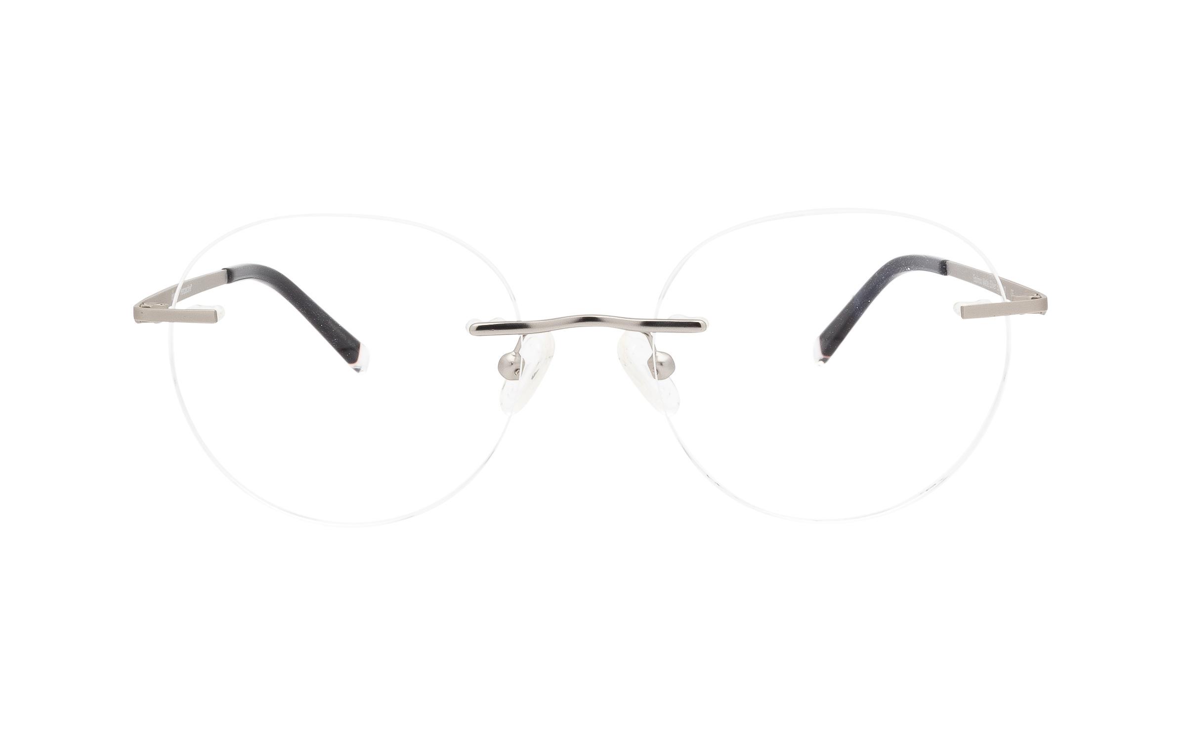 http://www.coastal.com/ - Perspective Equinox PER014 C04 (50) Eyeglasses and Frame in Matte Silver | Metal – Online Coastal